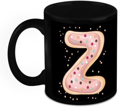 HomeSoGood One Of A Kind Alphabet Z Ceramic Mug
