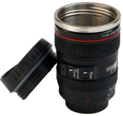 eDeal Hit Camera Lens Shaped Stainless Steel, Plastic Mug