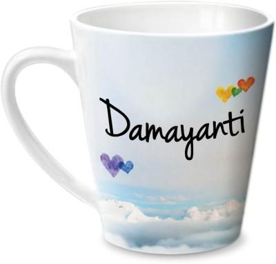 Hot Muggs Simply Love You Damayanti Conical  Ceramic Mug