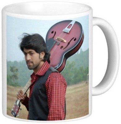 Exoctic Silver Rocking Star Yash Series010 Ceramic Mug