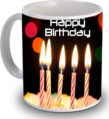Print Helllo Happy Birthday R220 Ceramic Mug