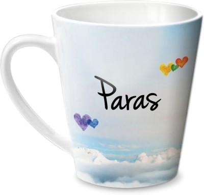 Hot Muggs Simply Love You Paras Conical  Ceramic Mug