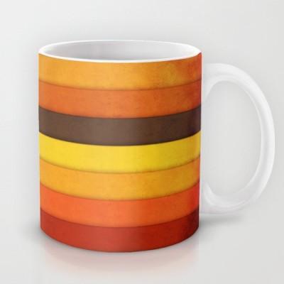 Astrode Vertical Grunge Ceramic Mug