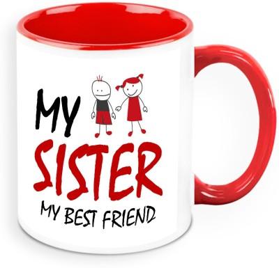 HomeSoGood My Sister My Best Friend Ceramic Mug