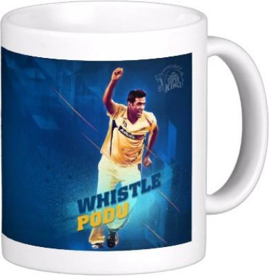Exoctic Silver Chennai Super King IPL Series XXX 001 Ceramic Mug