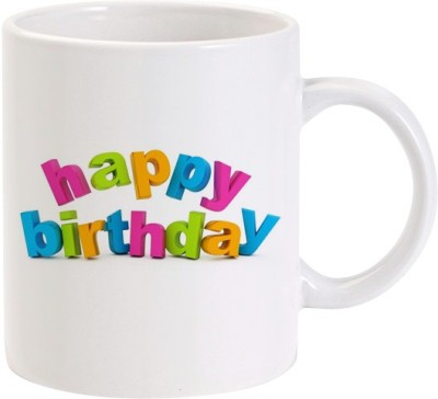 Lolprint 03 Happy Birthday Ceramic Mug