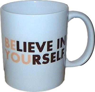 Exxact Believe in Yourself Ceramic Mug