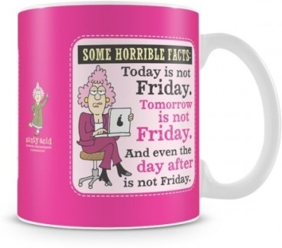 Aunty Acid Some Horrible Facts Ceramic Mug