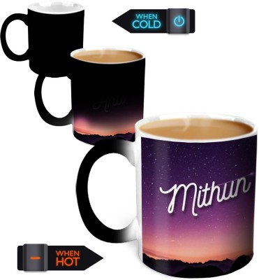 Hot Muggs You,re the Magic… Mithun Magic Color Changing Ceramic Mug
