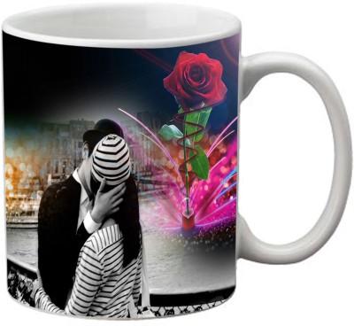 Romanshopping Love Couple  Bone China Mug