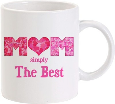 Lolprint Mom Simply The Best Mothers Day Ceramic Mug