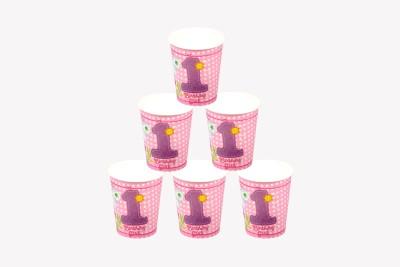Funcart Fun At 1 Girl Paper Mug