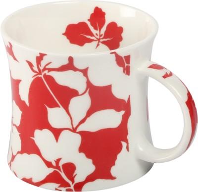 Carolin Red2 Bone China Mug