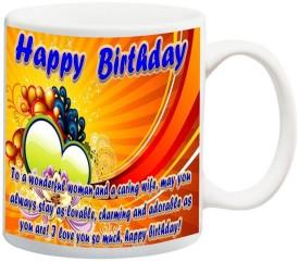 Data Express NHPBDWfW3flip 542 Ceramic Mug(325 ml)