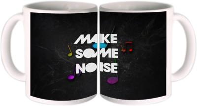 Shopkeeda Make Some Noise Ceramic Mug