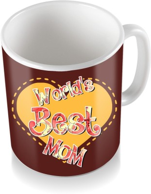 SKY TRENDS GIFT World Best Mom Gifts For Mother,s Day Ceramic Coffee  Ceramic Mug