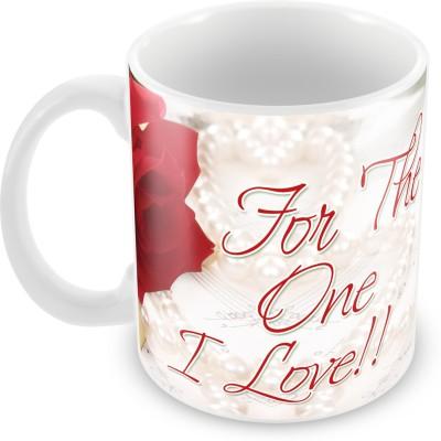 Fashion Envoy For the One I Love Valentine  Ceramic Mug