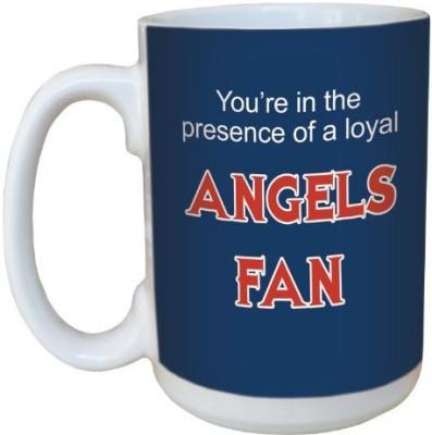 Tree-Free Greetings Greetings lm44090 Angels Baseball Fan Ceramic  with Full-Sized Handle, 15-Ounce Ceramic Mug