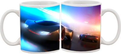 Goonlineshop Sports Car Ceramic Mug