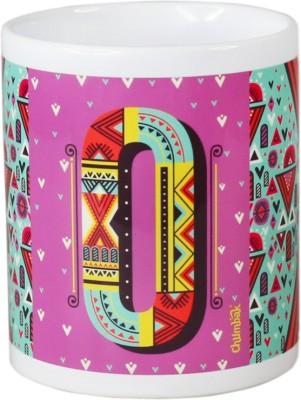 Chumbak Alphabet O Ceramic Mug