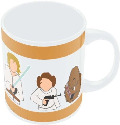 PosterGuy Star Wars Pop Art Illustration Minimalist Porcelain Mug