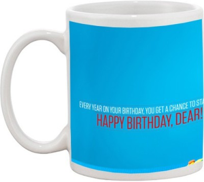 Go online shop Happy Birthday Ceramic Mug