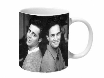 Mooch Wale Joey And Chandler Friends Ceramic Mug