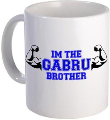 Giftsmate Gabru Brother Ceramic Mug