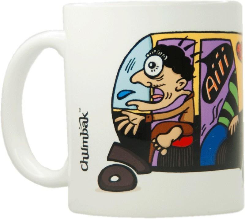 Chumbak Horn Ok Ceramic Mug(300 ml)