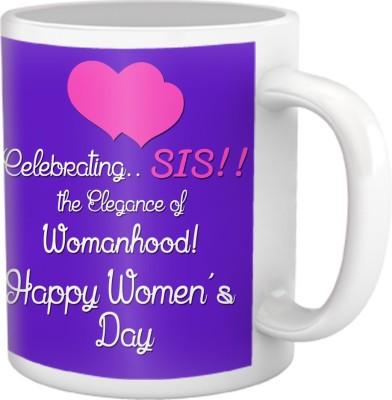 Tiedribbons Celebrating Sis Women,S Day Coffee Ceramic Mug