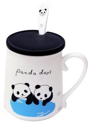Satyam Kraft Panda Ceramic Mug