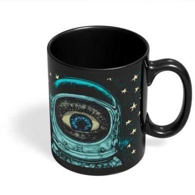 PosterGuy Astronaut Alien In Space Astronaut, Space, Alien, Stars, Psychedelic Ceramic Mug