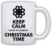 Muggies Magic Snowflake Ornament Christmas Gift 11 Oz Ceramic-114 Ceramic Mug(325 ml) best price on Flipkart @ Rs. 449