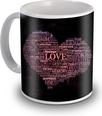 Sky Trends Love Passion Flavour Gifts For Valentine,s Ceramic Mug