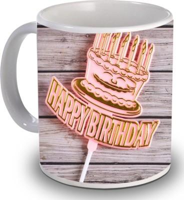 Print Helllo Happy Birthday R144 Ceramic Mug