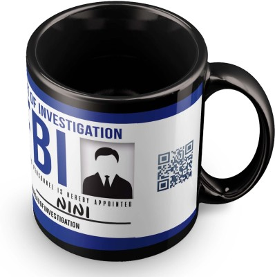 posterchacha Nini FBI Id Tea And Coffee Ceramic Mug(300 ml)
