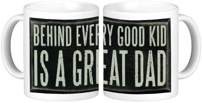 Shopmillions Good Kid Great Dad Ceramic Mug