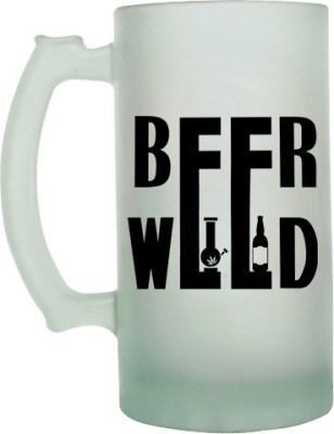 Keep Calm Desi Beer Weed Frosted Beer  Glass Mug