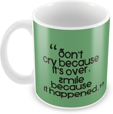 AKUP dont-cry-because Ceramic Mug