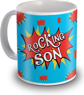 Sky Trends Rocking Son Gifts For Birthday Ceramic Mug