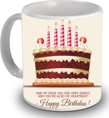 Print Helllo Happy Birthday R162 Ceramic Mug