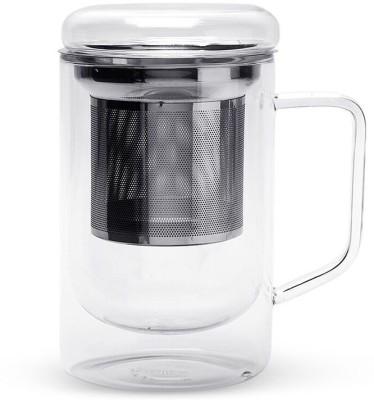 Teabox Seidel Glass Tea  with Infuser Glass Mug