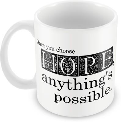 AKUP once-you-choose-hope Ceramic Mug