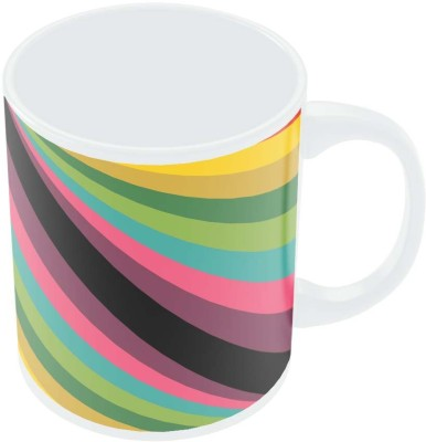 PosterGuy Abstract Art Pattern Multicolored Art Porcelain Mug
