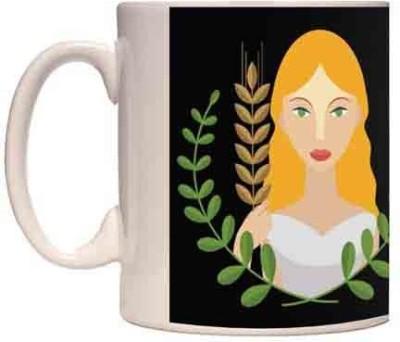 Onlineworld Zodiac Coffee - White – Virgo – 09 Ceramic Mug