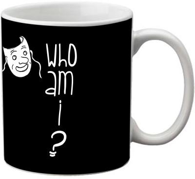 Romanshopping Who am I  Bone China Mug