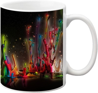 ezyPRNT Color splash Ceramic Mug