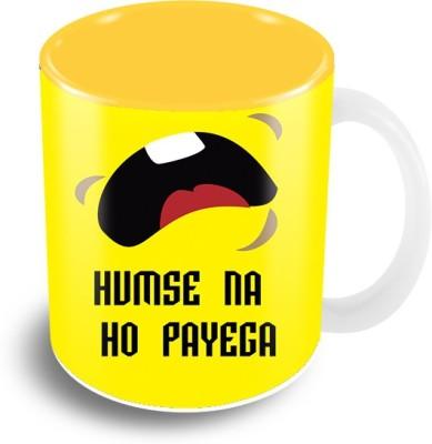 Thecrazyme Humse Na Ho payega Ceramic Mug