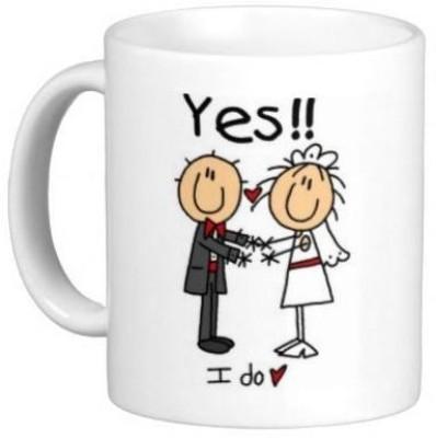 Hainaworld Yes I Do Coffee  Ceramic Mug
