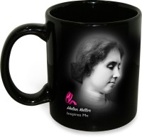 Hot Muggs Helen Keller - Never Bend your Head Ceramic Mug